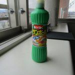 シンクのお掃除(第2段階 サンポール)